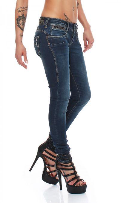 Herrlicher Piper Slim D9668 755 Damen Jeans Hose – Bild 2