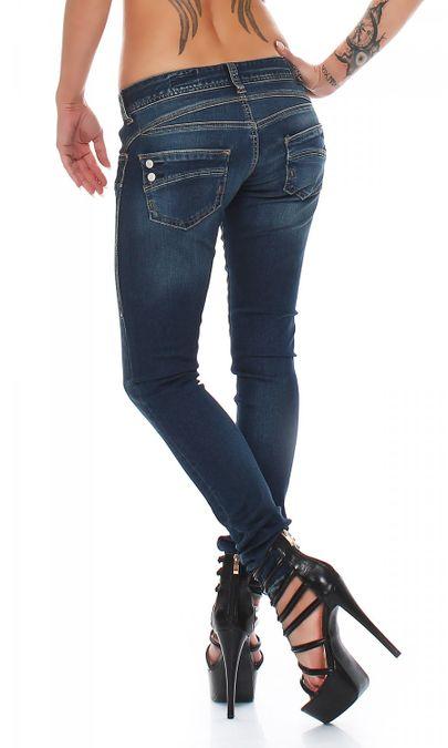 Herrlicher Piper Slim D9668 755 Damen Jeans Hose – Bild 3
