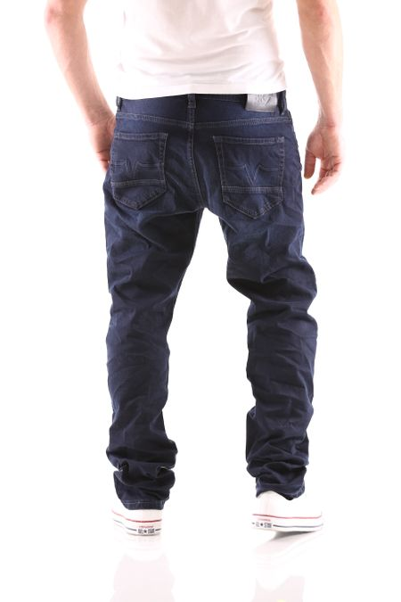 Big Seven Stanley Deep Blue Regular Herren Jeans – Bild 3