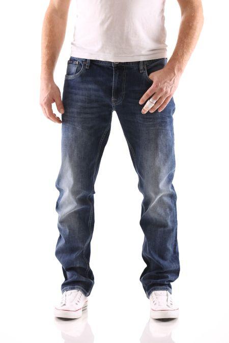 Big Seven Stanley Graduate Blue Regular Herren Jeans – Bild 1