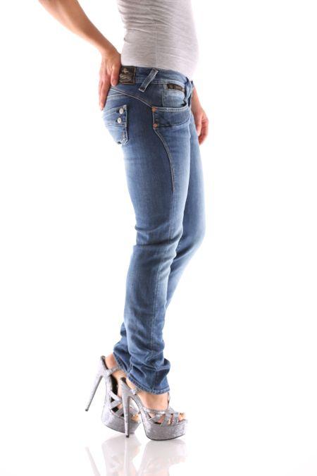Herrlicher Piper Slim Denim D9666 710 Damen Jeans – Bild 2