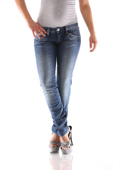 Herrlicher Piper Slim Denim D9666 710 Damen Jeans – Bild 1
