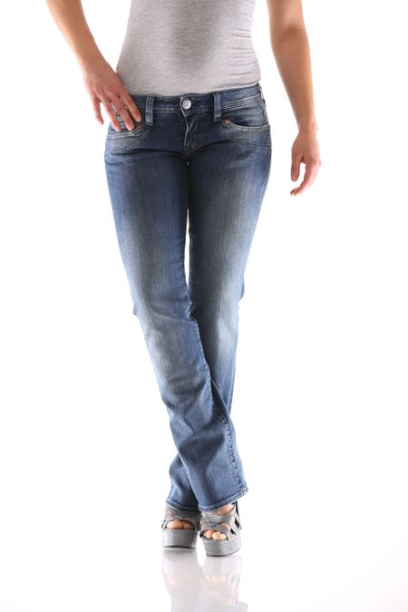 Herrlicher Piper Straight Denim D9666 710 Damen Jeans