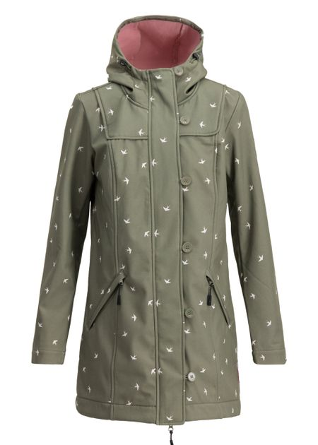 Blutsgeschwister Wild Weather Long Anorak Damen Jacke Mantel