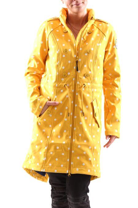 Blutsgeschwister Swallowtail Promenade Coat Damen Jacke Softshell Mantel – Bild 4