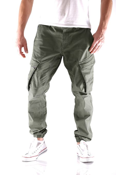 Big Seven Ben Straight Tapered Herren Cargo Hose – Bild 4