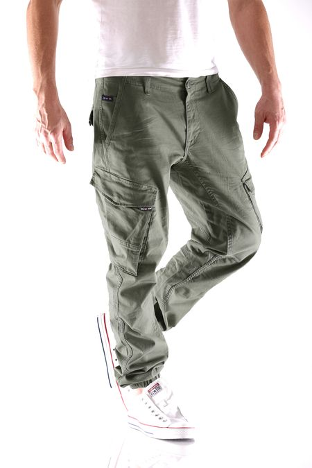Big Seven Ben Straight Tapered Herren Cargo Hose – Bild 5