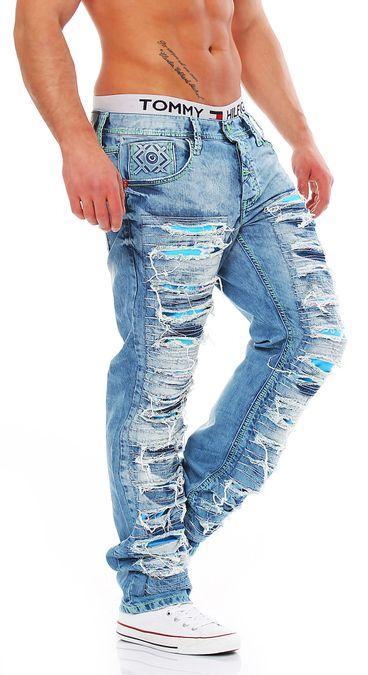 Cipo & Baxx CD-610 Regular Fit Herren Jeans – Bild 2