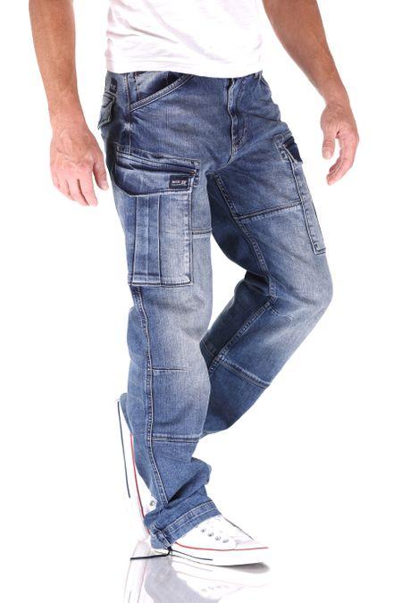 Big Seven Brian Vintage Aged Cargo Herren Jeans – Bild 2