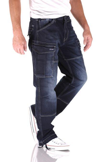 Big Seven Brian SLC Cargo Comfort Fit Herren Jeans – Bild 2