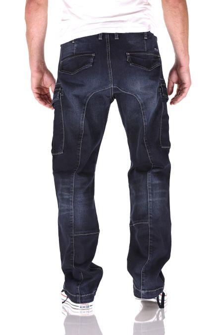 Big Seven Brian SLC Cargo Comfort Fit Herren Jeans – Bild 3