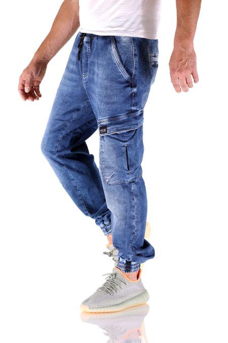 Big Seven Rick Super Flex Jogger Dark Vintage Herren Jeans – Bild 2