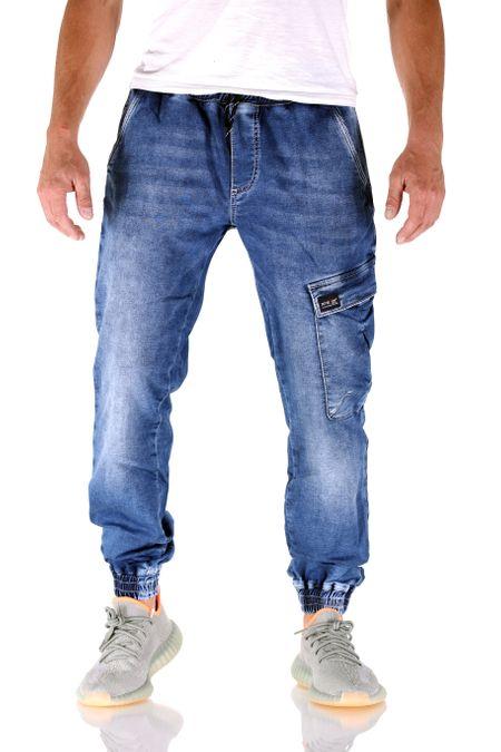 Big Seven Rick Super Flex Jogger Dark Vintage Herren Jeans – Bild 1