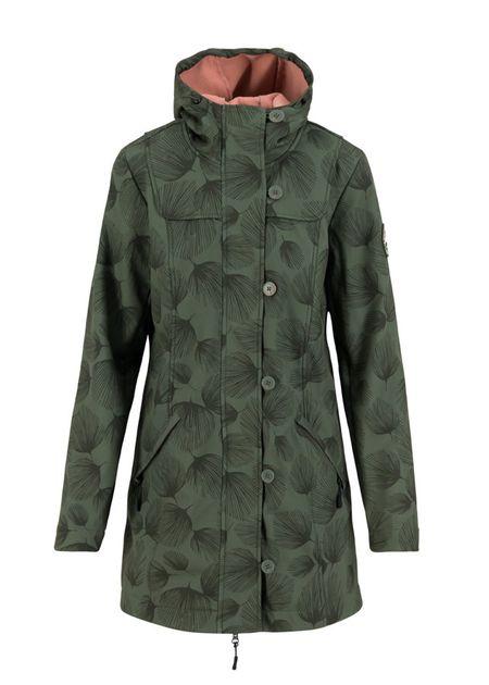 Blutsgeschwister Wild Weather Long Anorak Damen Jacke Mantel – Bild 1