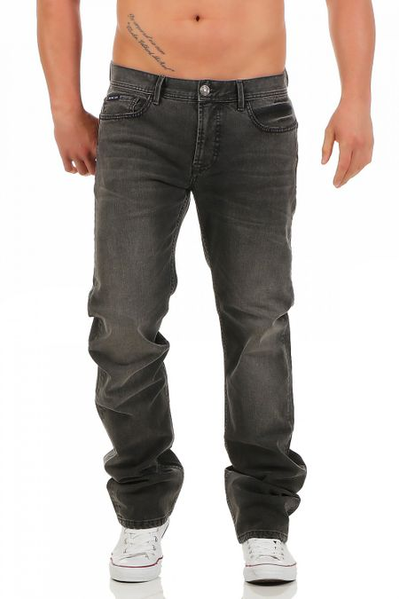 Big Seven Dan Chicago Wash Regular Fit Herren Jeans – Bild 1