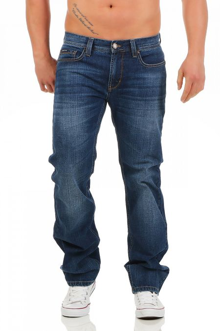 Big Seven Dan Atlanta Wash Regular Fit Herren Jeans – Bild 1