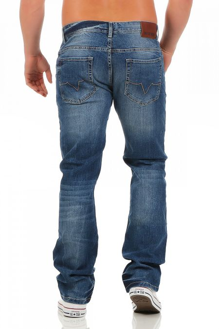Big Seven Warren Nevada Regular Fit Herren Jeans – Bild 3