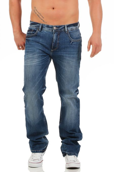 Big Seven Warren Nevada Regular Fit Herren Jeans – Bild 1