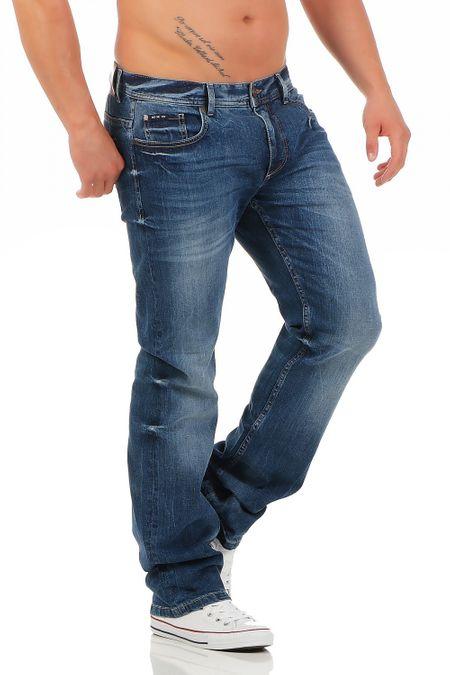 Big Seven Warren Nevada Regular Fit Herren Jeans – Bild 2