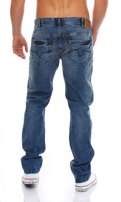 Big Seven Ryan Daytona Regular Fit Herren Jeans – Bild 3