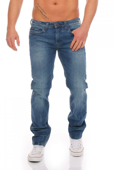 Big Seven Jake Montana Regular Fit Herren Jeans – Bild 1