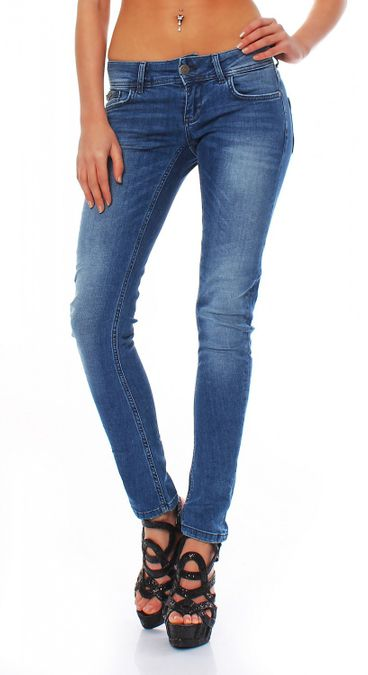 Big Seven Electra Light Blue Skinny Fit Damen Jeans – Bild 1