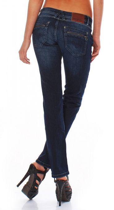 Big Seven Suzann Dark Blue Straight Fit Damen Jeans – Bild 2