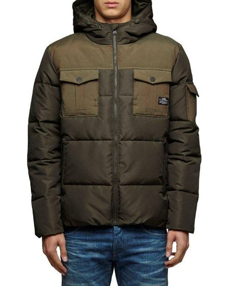 JACK & JONES - WOOD BOMBER - grün - Herren Winterjacke