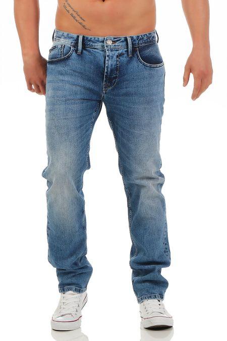 Big Seven Morris Medium Blue Regular Fit Herren Jeans – Bild 1
