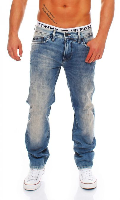Big Seven Morris Vintage Aged Regular Fit Herren Jeans