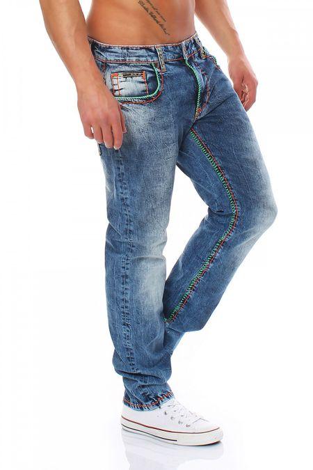 Big Seven Jay Medium Aged Regular Fit Herren Jeans – Bild 2