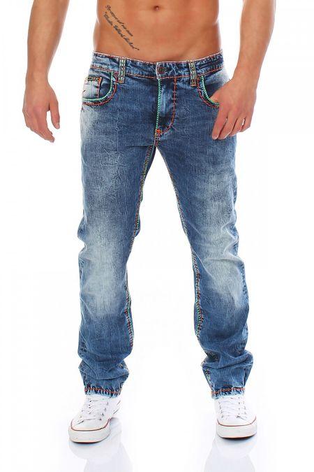 Big Seven Jay Medium Aged Regular Fit Herren Jeans – Bild 1