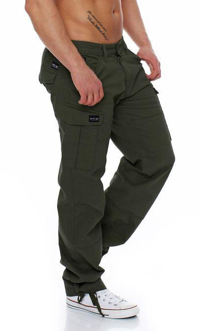 Big Seven Brian Cargo Hose Comfort Fit Herren Jeans – Bild 16