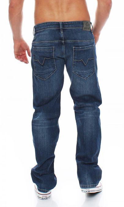 Big Seven Morris Sapphire Blue Comfort Fit Herren Jeans – Bild 3