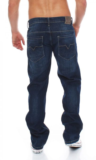 Big Seven Morris True Blue Comfort Fit Herren Jeans – Bild 3
