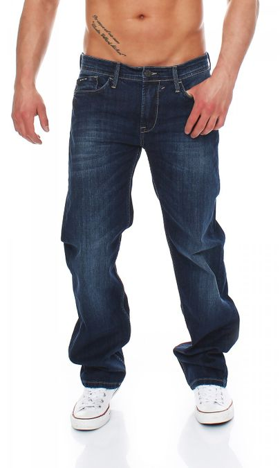 Big Seven Morris True Blue Comfort Fit Herren Jeans – Bild 1