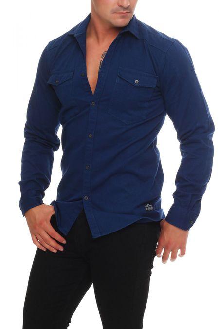 Jack & Jones Conix Shirt Two Pocket Herren Hemd – Bild 4