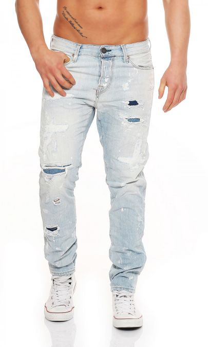 Jack & Jones Erik Icon BL728 Anti Fit Herren Jeans – Bild 1
