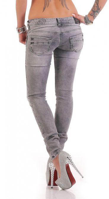 Herrlicher Piper Slim DB650 688 Damen Jeans – Bild 3