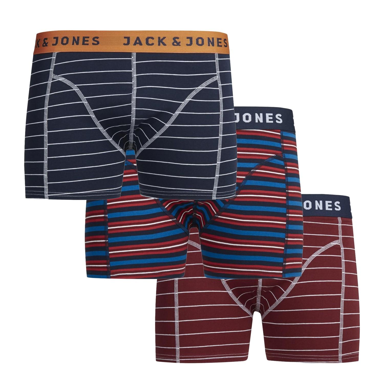 Jack /& Jones Boxershorts BOXER Sense mix color Trunks NOOS 4er Pack