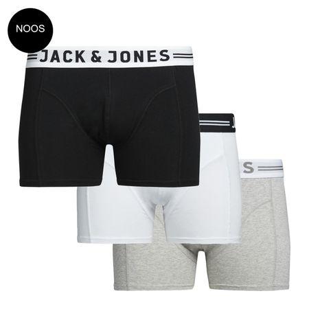 Jack & Jones 3er Pack Herren Boxer Shorts – Bild 2