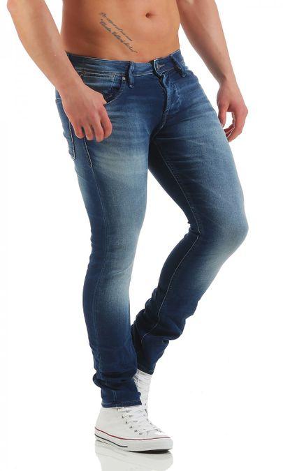 Jack & Jones Glenn Dash Indigo Slim Fit Herren Jeans – Bild 2