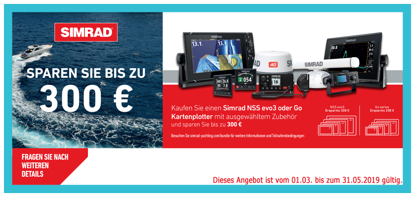 On Yacht GmbH - Simrad Aktion