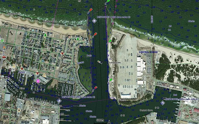 Garmin BlueChart g3 elektronische Seekarten Satellitenbilder
