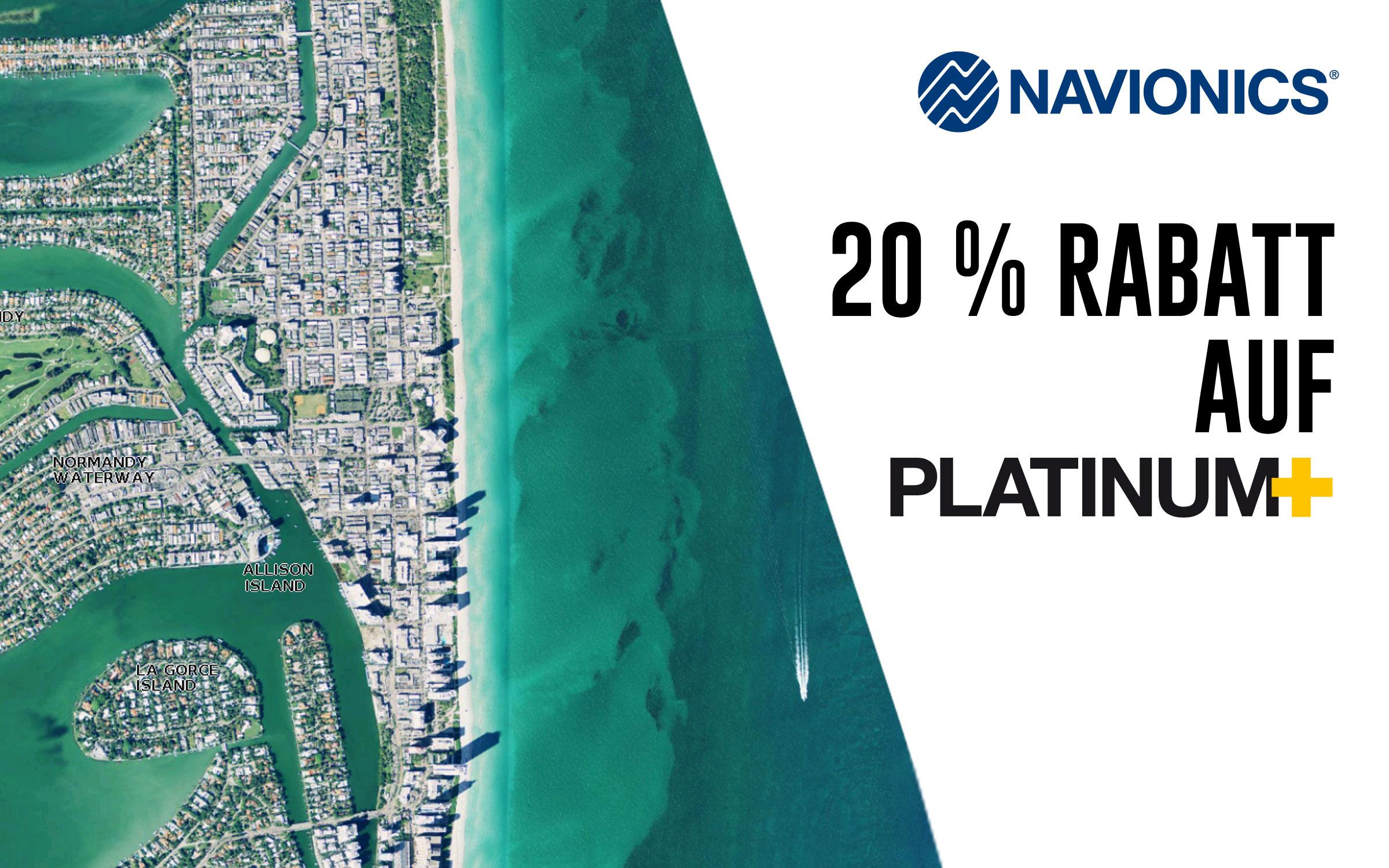 Navionics Platinum Plus Aktion