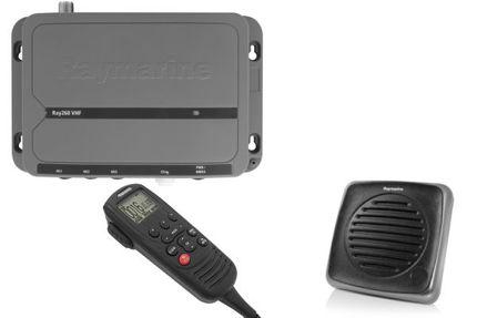 Ray260 UKW-See-/Binnenfunkanlage (ohne AIS, Lautsprecher passiv)