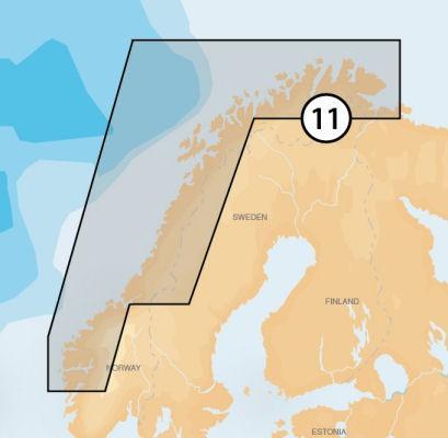 11P+ (Norwegen Nord-West) Platinum+ XL3
