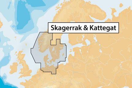 45XG (Skagerrak, Kattegat) Navionics+
