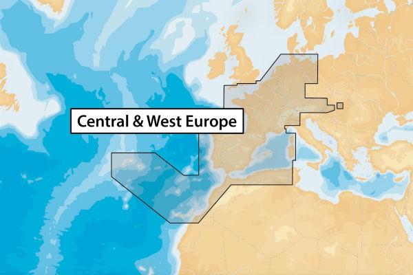46XG (Zentral & West Europa) Navionics+