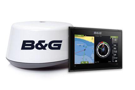 Vulcan 9 FS mit B&G 3G-Radar